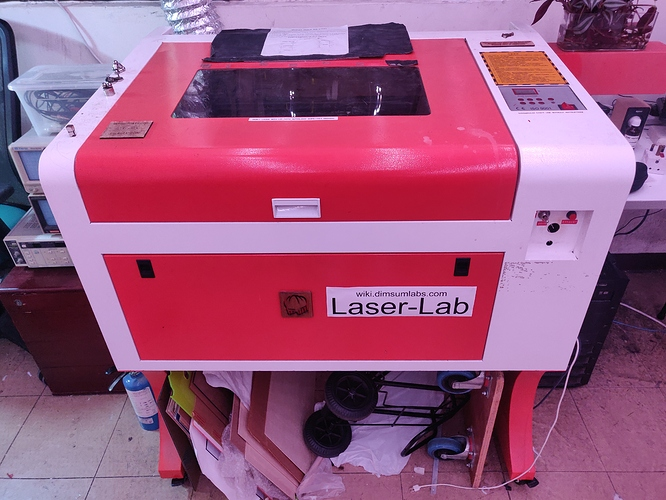 Photo of our machine