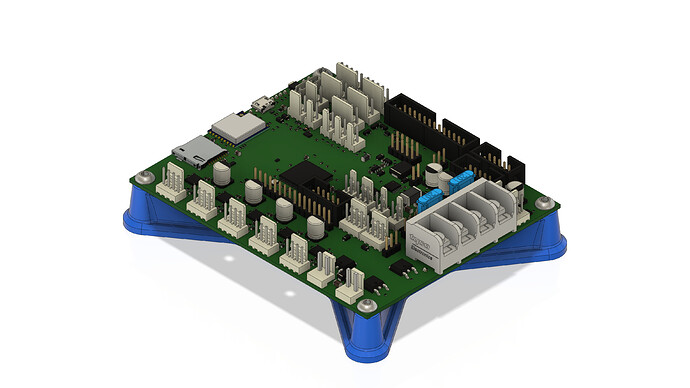 Elecronics Mount Assembly - Duet 3 Mini 5+ Wifi