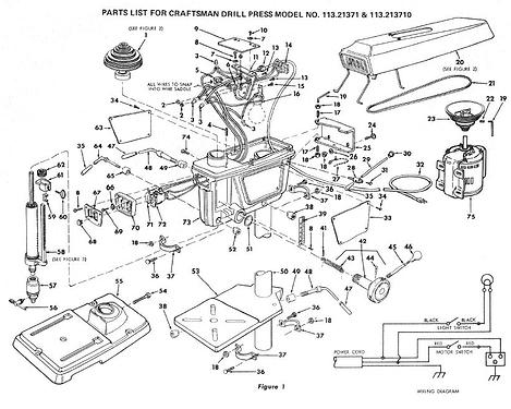 Drill press parts 1
