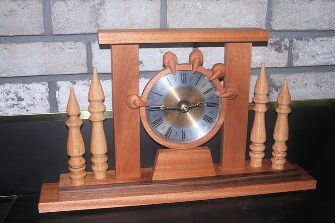 dragon claw clock 2