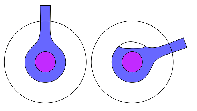 laser tube air bubble