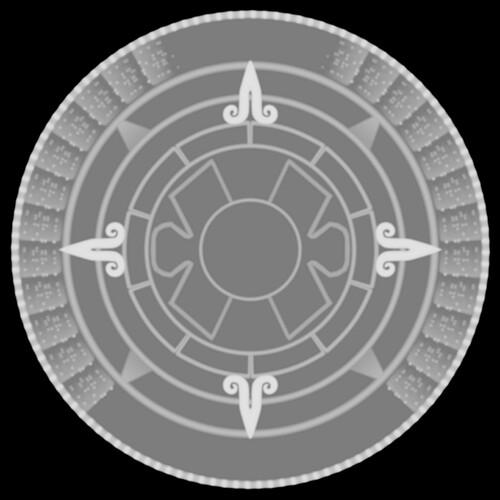 Mayan Calendar blank