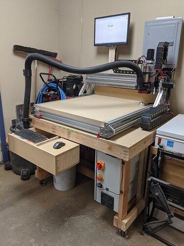 Workbench with Drawers1