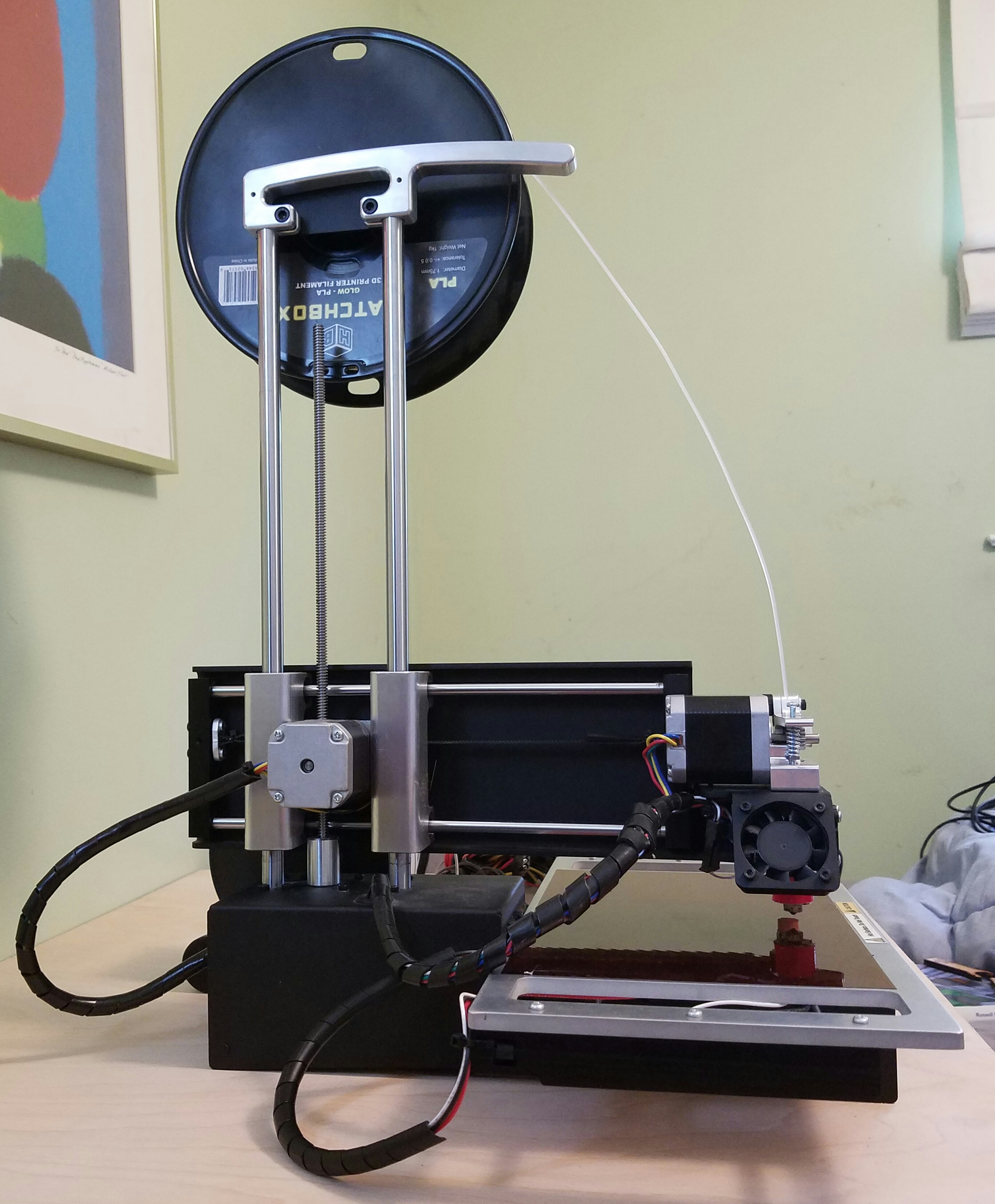 how to flash new firmware to printrbot simple 1405